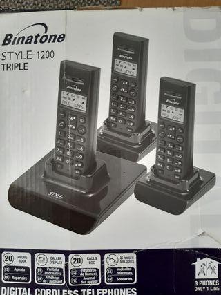 TELEFONOS INALAMBRICOS LINEA FIJA