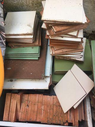 Baldosas de terraza y de cocina-baño
