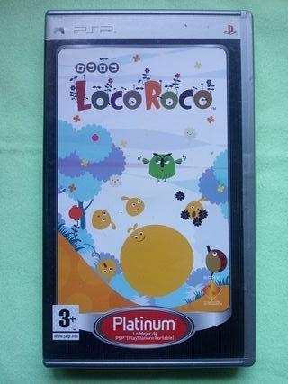 PSP. LocoRoco.
