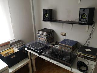 EQUIPO COMPLETO DJ:CONTROLADORA,PLATO,ALTAVOCES...