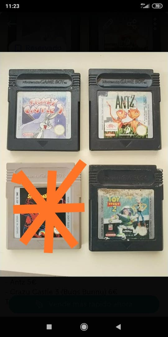 pack 3 Juegos dé Gameboy