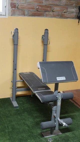 Banco de pesas multifuncional