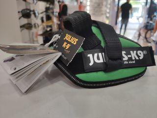 Arnés para perro Julius L9 Min Verde 40-53cm/4-7KG