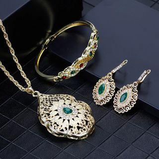 Conjunto de joyeria marroqui