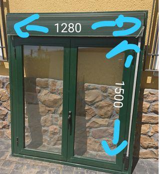 ventana con persiana