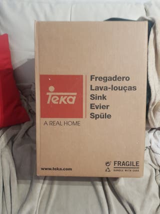 fregadero acero inoxidable TEkA
