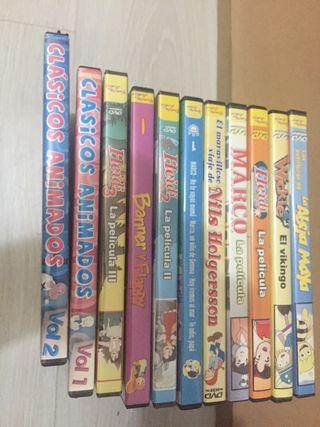 Películas infantiles DVD
