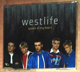 Westlife CD single Queen of my heart