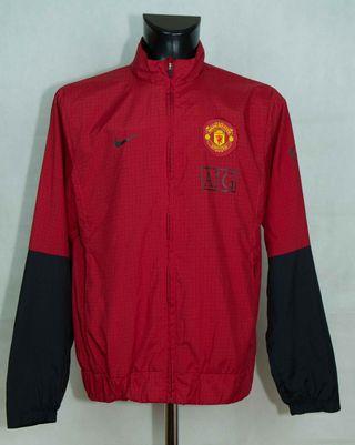 Cortavientos Nike Man United / Rojo / Talla L
