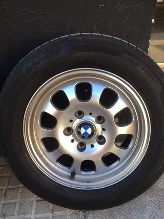 """Llantas BMW Style 46 15"""" / Dunlop 195/65R15 nuevas"""