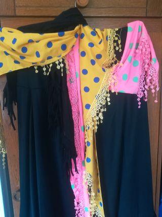 oferta falda de baile y pañuelo de regalo