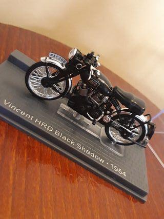 Maqueta de moto Vincent HRD Black Shadow 1954