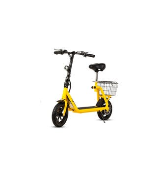Patinete-Scooter eléctrico con sillín, motor 350W