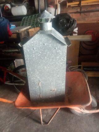 caseta del calentador de chapa galvanizada