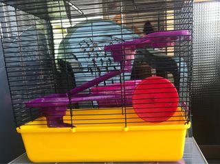 Jaula de roedor