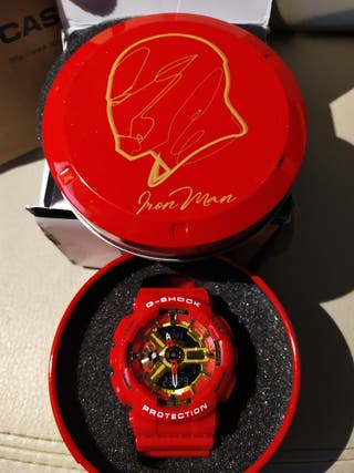 CASIO G-SHOCK MARVEL IRON MAN EDICIÓN LIMITADA NUE