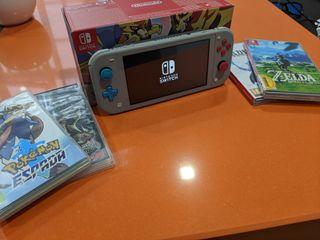 Nintendo Switch Lite edición especial Pokemon
