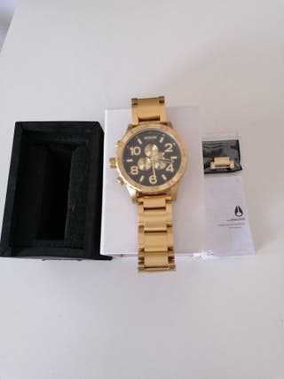 NIXON 51-30 Chrono all gold / Black (ORIGINAL)