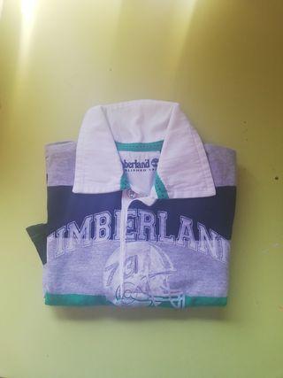 Polo manga larga bebé Timberland