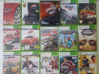 Juegos Xbox 360.