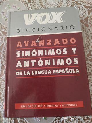 diccionario sinónimos antónimos