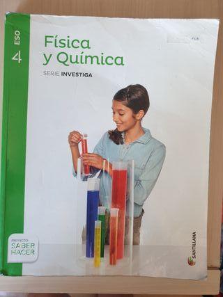 Libro 4 de la Eso,física y quimica