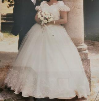 Vestido novia T 46