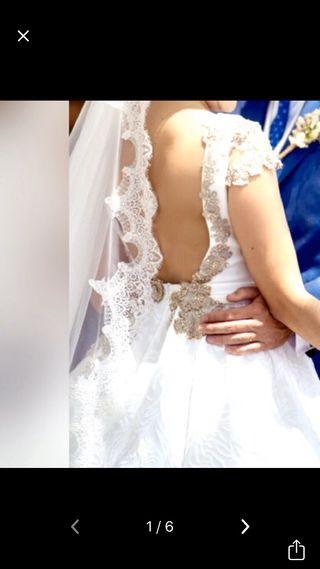 Vestido Novia - Silvia Navarro