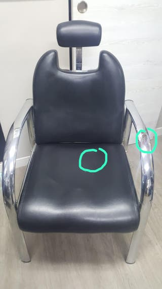 Butaca peluqueria usada