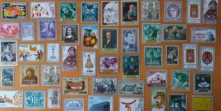 49 sellos metálicos tema:Valencia