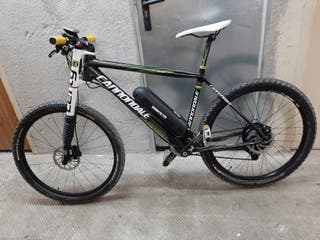 cannondale carbono electrica