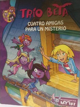 Trío Beta libro infantil