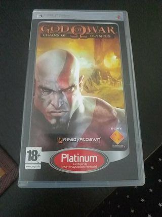 videojuego PSP god of war