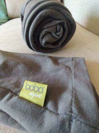 Fular Portabebes Boba Organic color Gris / porteo