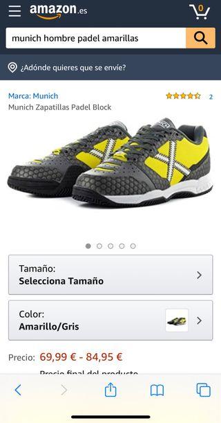 Zapatillas Padel Munich
