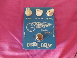 Harley Benton Digital Delay - Pedal de guitarra