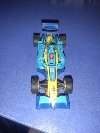 coche scalextric pequeño Fernando Alonso Renault