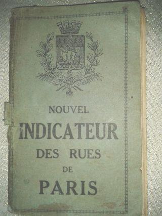Callejero de Paris antiguo