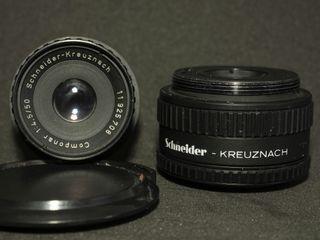 Schneider Kreuznach pack 2 objetivos