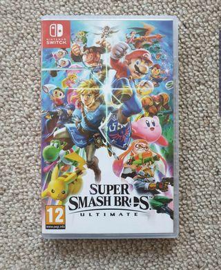 Nintendo switch Super smash Bros Ultimate