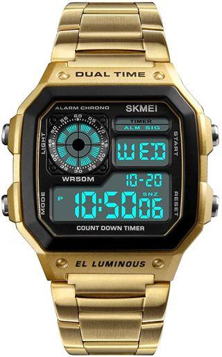 Reloj SKMEI 1335 Gold nuevo con precinto