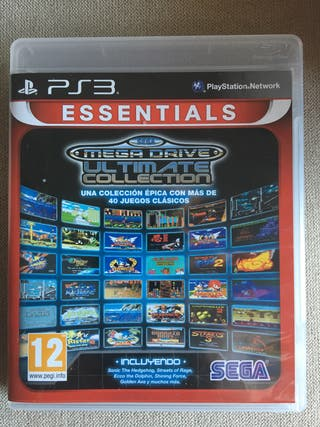 Sega mega drive collection ps3
