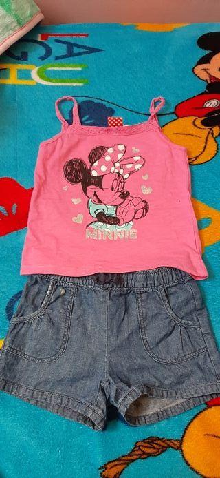pantalon y blusa niña de 5 a 6 años