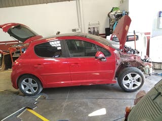 despiece Peugeot 207 1.6hdi