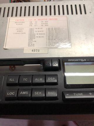 Radio cassette brigmton