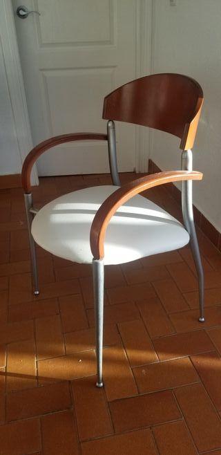 silla comedor polipiel