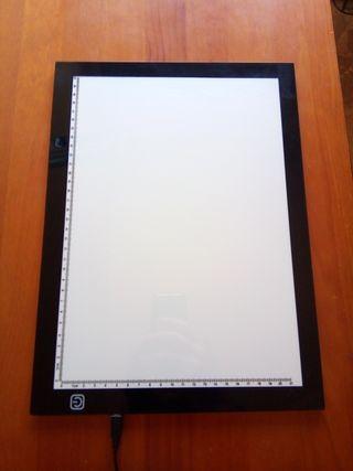 pantalla de luz para dibujo
