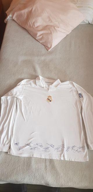 Polo Real Madrid 2002-2003 firmado