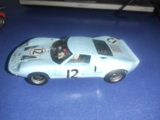 coche Scalextric ford GT 40 FLY