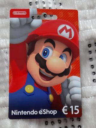 carte Nintendo eShop de 15 € et je la vends à 10 €